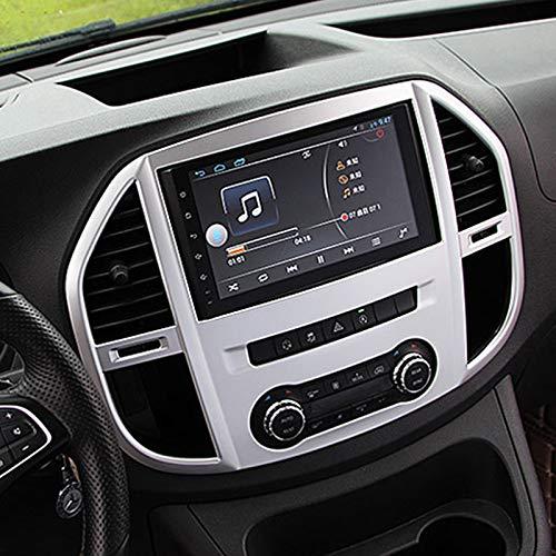TOOGOO Style de Voiture 1 PCS ABS Mat Int/éRieur Console Air Vent Out Trim Navigation Couverture Couverture pour Mercedes Vito W447 2014-2018