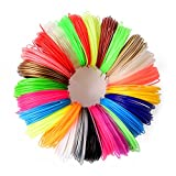 26 pc 3D Printer Pen Filament Refill   1.75mm PLA Filament (NOT ABS)   520 Linear Feet   26 Different Colors, 6 Glow In The Dark Designer Fun Pack   Odorless & Toxic Free   20' Each Color   SmashZen