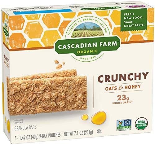 Granola & Protein Bars: Cascadian Farms Crunchy