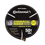 Continental ContiTech Premium 5/8 in. Dia x 50 ft. Commercial Grade Rubber Black Water Hose