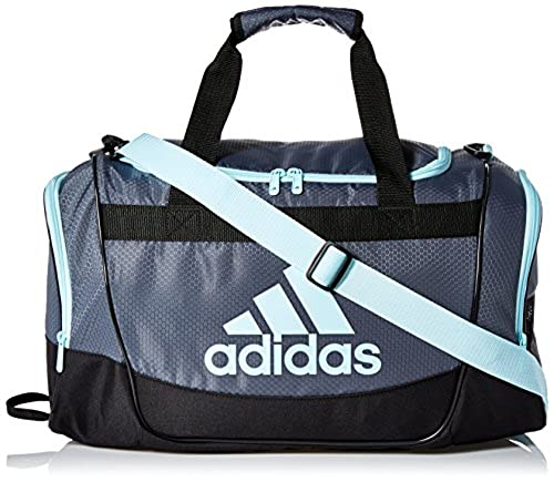 adidas Defender II Small Duffel Duffel Bag Onix Frozen Blue in Dubai - UAE   f87acadd9519d