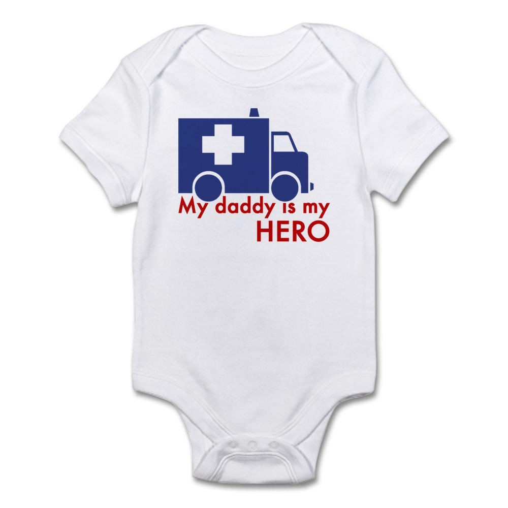 c24cf4be CafePress - My Daddy Is My Hero (Paramedic) Infant Bodysuit - Cute Infant  Bodysuit Baby Romper: Amazon.ca: Clothing & Accessories