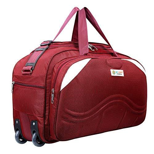 Sky Script Travel Duffel Bag for Men and Women