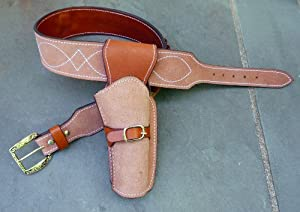 "Straightline Clint Eastwood Holster Rig - Cowboy Western Gun Belt 32"" - 46"" The Good the Bad and the Ugly - Great"