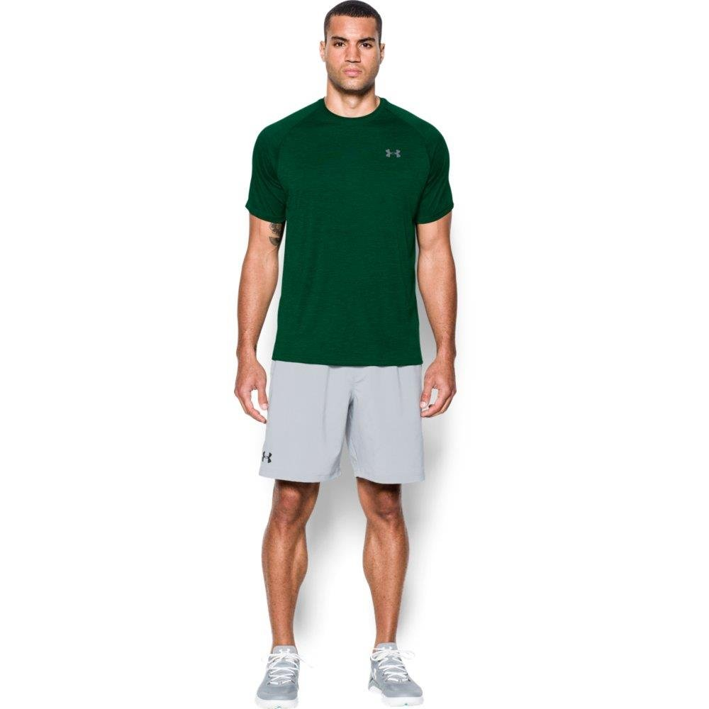 [アンダーアーマー] UA Tech SS Tee メンズ 1228539 B0187PR6Q0 Medium|Forest Green/Steel Forest Green/Steel Medium