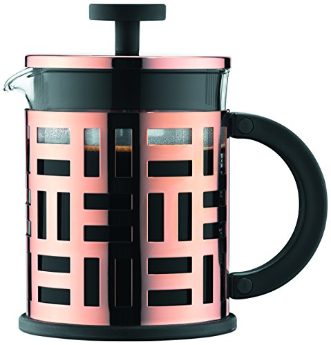 Bodum Eileen 4 Cup French Press Coffee Maker, Copper, 0.5 ()
