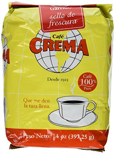 Crema Cafe (Cafe Crema Ground Coffee 14 Ounce (Pack of 6))