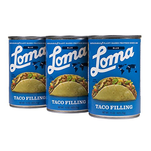 Loma Linda Blue Taco Filling (15 oz.) (Pack of 3) (Taco Filling)