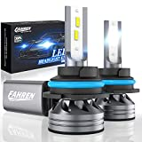 Fahren 9007/HB5 LED Headlight Bulbs, 60W 12000 Lumens Super Bright LED Headlights Conversion Kit 6500K Cool White IP68 Waterproof