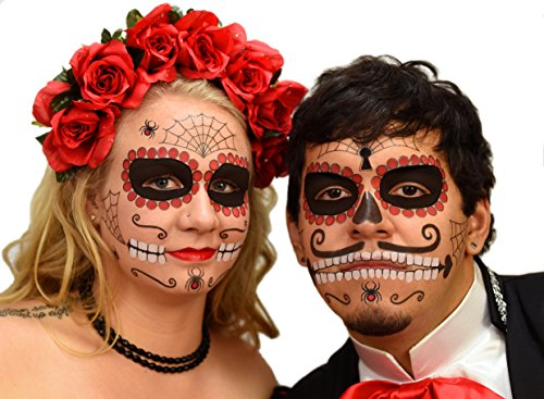 Ruby  (Traditional Sugar Skull Costume)