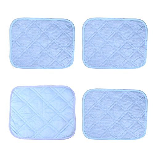UEETEK 4pcs Pet Cooling Mat Pet Self Comfort Cooling Pads Cool Beds for Dogs and Cats by UEETEK