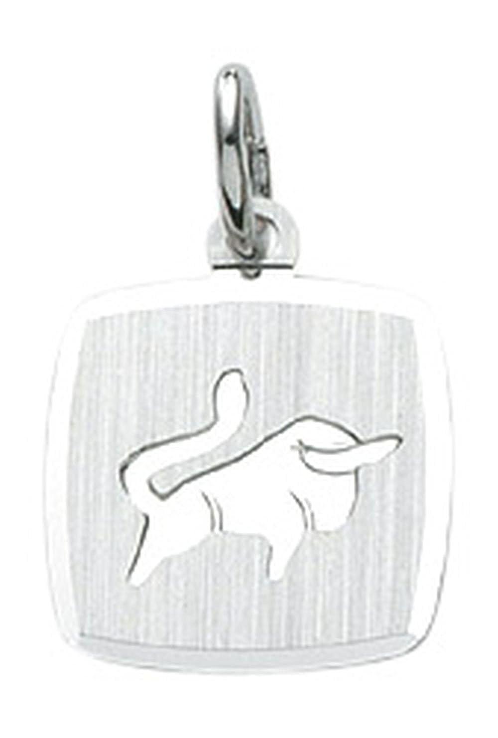 Signo llavero de toro de plata de ley 925: Amazon.es: Joyería