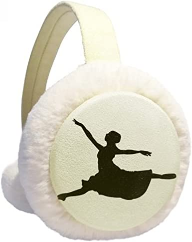 Ballet Jumping Performance Dancer Winter Earmuffs Ear Warmers Faux Fur Foldable Plush Outdoor Gift