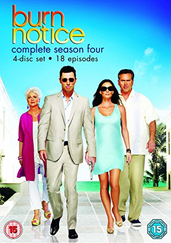 Burn Notice: Season 4 [Import anglais] -  NTSC, Jeffrey Donovan, Jeffrey Donovan