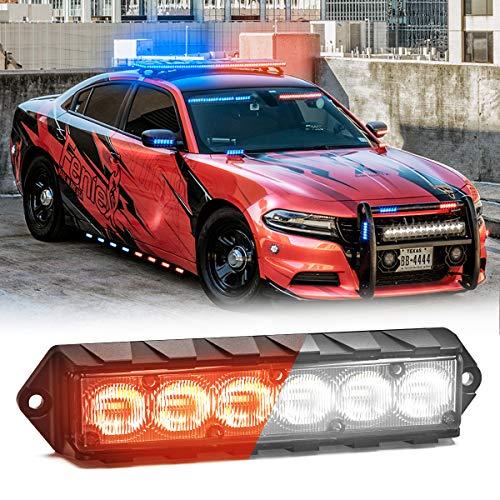 Red, 40/° Feniex Fusion 1X Dash Light Red