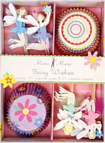 Fairy Wishes Birthday Party Cupcake Sets By Meri Meri by Meri Meri