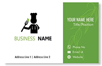 Amazon Design Your Own Personalized Business Card Custom