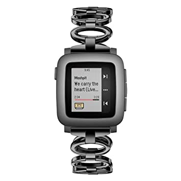 Amazon.com : Fewear 2019 Watch Band/Strap for Pebble Time ...