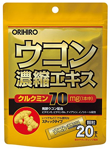Orihito UKON Concentration extract 1.5gx20sticks]()