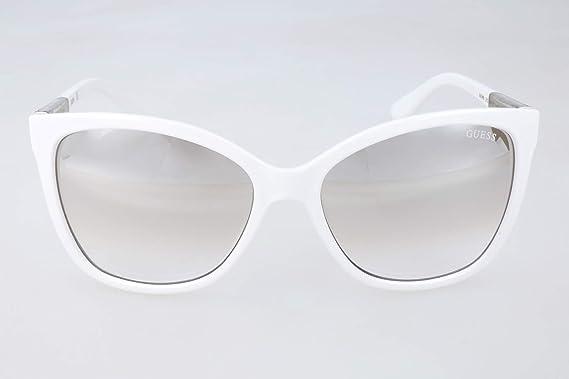 Sonnenbrille Weiß Guess Sonnenbrille Weiß Guess Weiß Damen