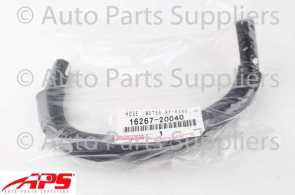 Genuine Toyota 16267-20040 Water By-pass Hose Replacement Parts ...