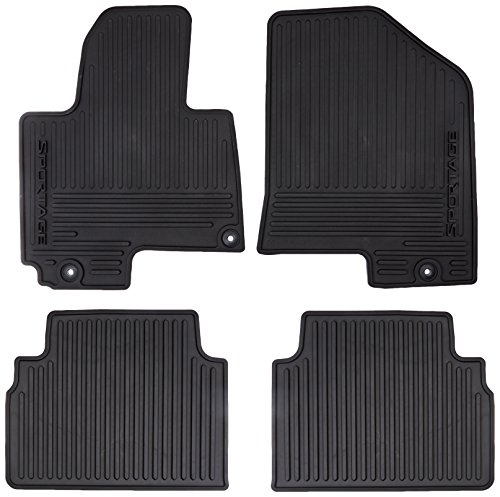 Genuine Kia Accessories 3W013 Adu00 All Weather Floor Mat For Select Sportage Models