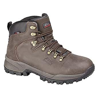 Johnscliffe Boys Canyon Leather Superlight Hiking Boots (UK Size: 4 UK) (Brown)