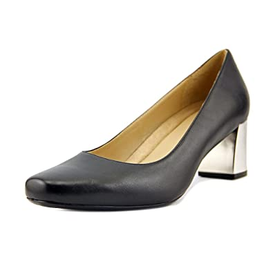Naturalizer Womens Classic Kyran Leather Closed Toe Classic Womens Pumps Black Size 7.5 c8064a