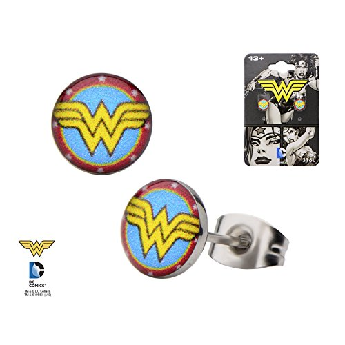 Wonder Woman Stud - Earrings Wonder Woman
