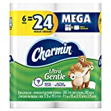 Unlike ordinary toilet paper that can irritate in use, Charmin Ultra Gentle is dermatologist-tested to gently clean even irritated skin. That's because Charmin Ultra Gentle toilet paper has the Charmin softness you love with a touch of soothi...