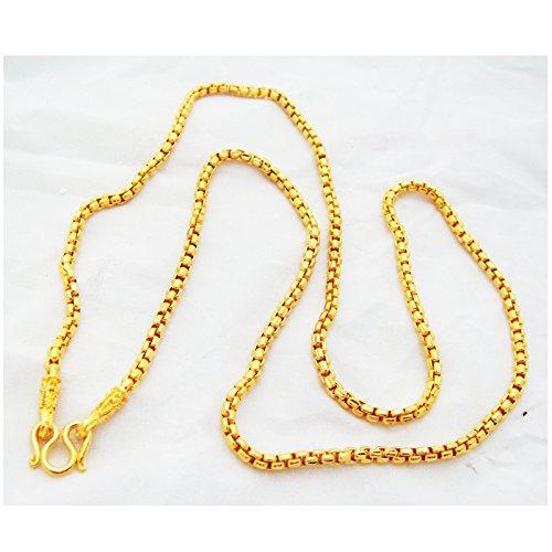 Chain 22k 23k 24k Thai Baht Gold GP Necklace 24