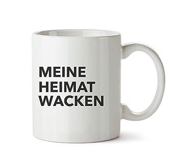 quality design 90bf2 70991 Mr. & Mrs. Panda Tasse Stadt Wacken Text - Spruch Geschenk ...