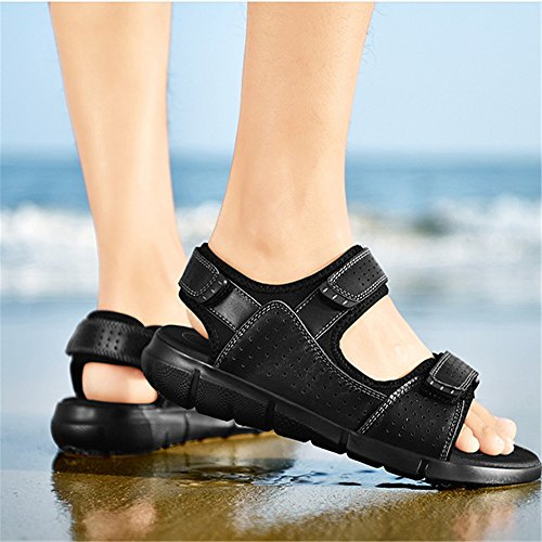 29 Magic Beach Scarpe Men's Shoe CM Stick Traspiranti 24 spiaggia Nero 0 pantofole Dimensione Neri Colore Outdoor Sports Wagsiyi Nero EU Sandal 0 3 1 da Sandali 39 T0E6wq8X