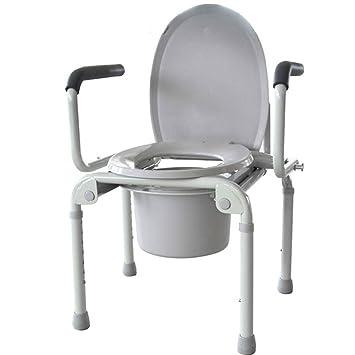 GAOQ Chaise De Toilette Pour Personnes Ges Handicapes