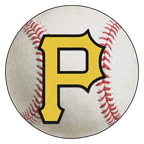 FANMATS MLB Pittsburgh Pirates Nylon Face Baseball Rug