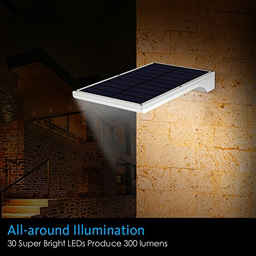 Innogear 30 Led Solar Lights Outdoor Led Motion Sensor