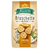 MARETTI, BRUSCHETTE, QUATTRO FORMAG, Pack of 9, Size 5 OZ - No Artificial Ingredients 70%+ Organic