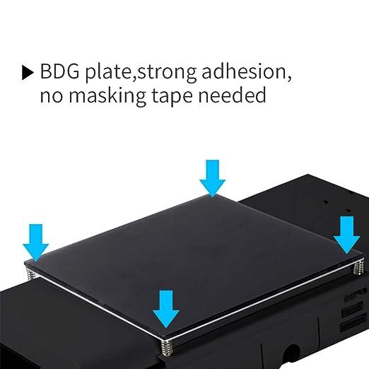 JG MAKER Impresora 3D con marco de metal negro autocontenido ...