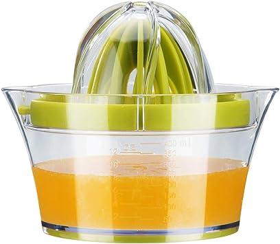 Ga HOMEFAVOR Zitruspresse Zitronenpresse Orangen Entsafter Multifunktionale Manuelle Zitrusfrucht Saftpresse Handpresse mit 400ml Saftbehälter und 2