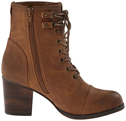 887865273226 - Madden Girl Women's Westmont Combat Boot, Cognac, 8.5 M US carousel main 6