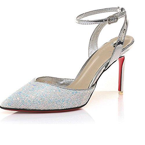 DKFJKI Talons Hauts Talons Hauts Pointu Chaussures Professionnelles Chaussures de Soir