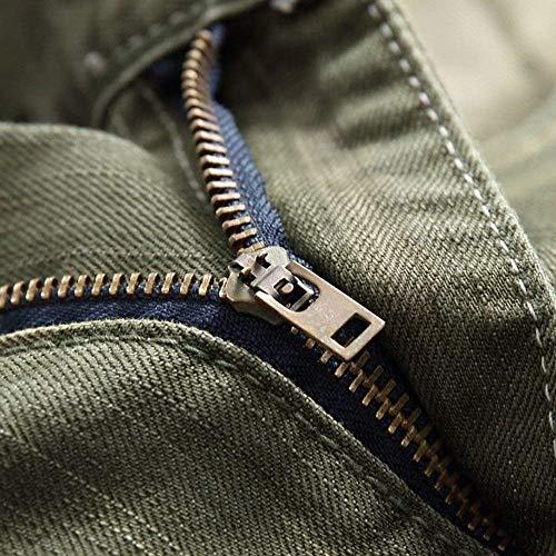 In Mid Stretch Base Casual Da Ragazzi Classiche Waist Jeans Regular Streetwear Fit Pantaloni Uomo Hellblau Denim PXYqgw