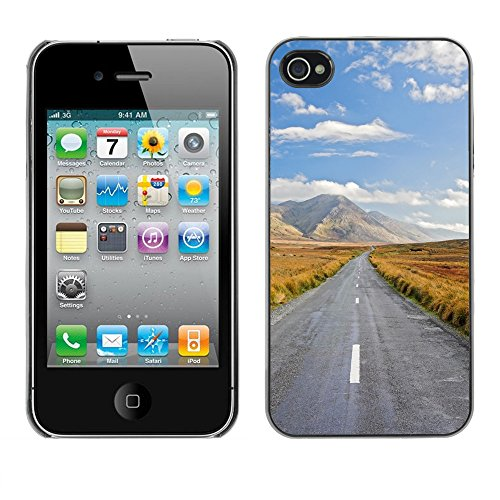 Premio Sottile Slim Cassa Custodia Case Cover Shell // V00002672 Journey Ahead // Apple iPhone 4 4S 4G