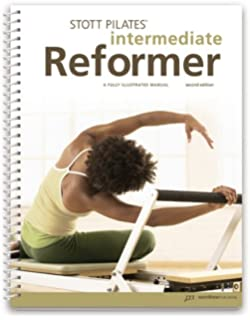 Stott Pilates Wall Chart Intermediate Reformer Ausdauertraining Fitness & Jogging
