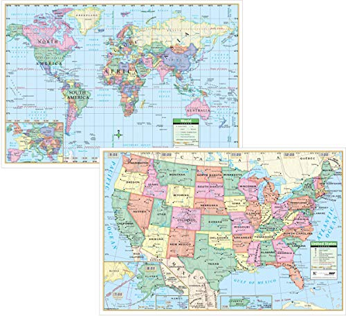US/World Study Pad Map - Blank Outline Maps