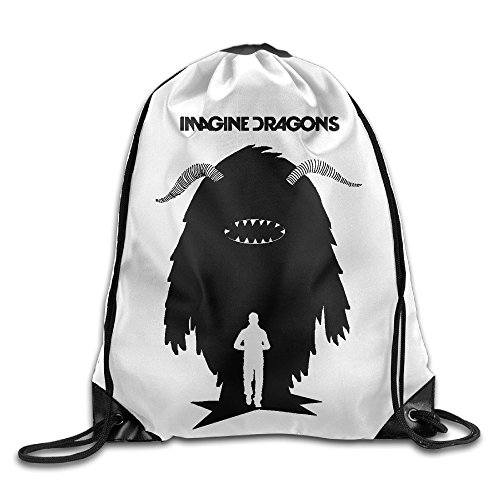 School Drawstring Bag Imagine Dragons - Demons -