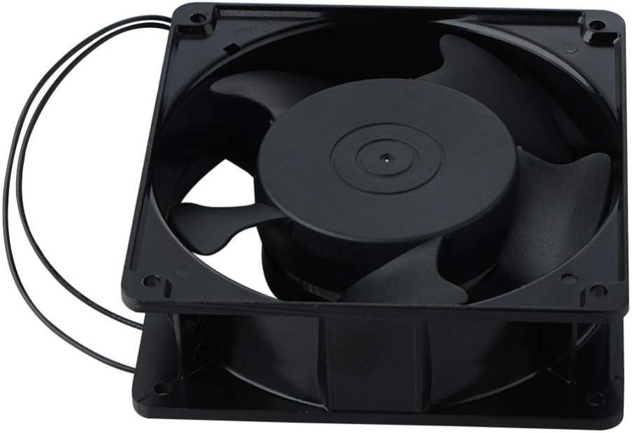 SHANDIAN 1 Piece Replacement Cooler Fan 12038 120x38mm 12cm 120mm 220V 240V AC Cooling Fan Metal