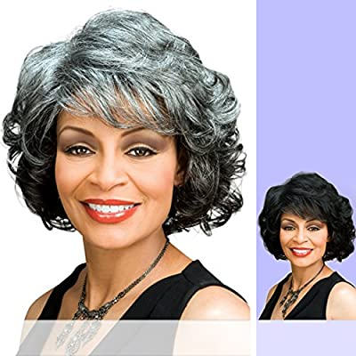 Foxy Silver (Barbara) - Synthetic Full Wig in 3T34