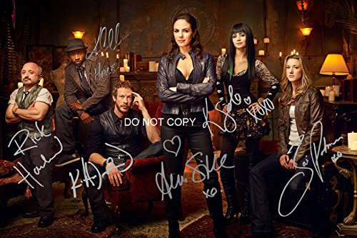 Lost Girl tv show reprint signed cast 12x18 poster photo by 6 Anna Silk + RP from Loa_Autographs