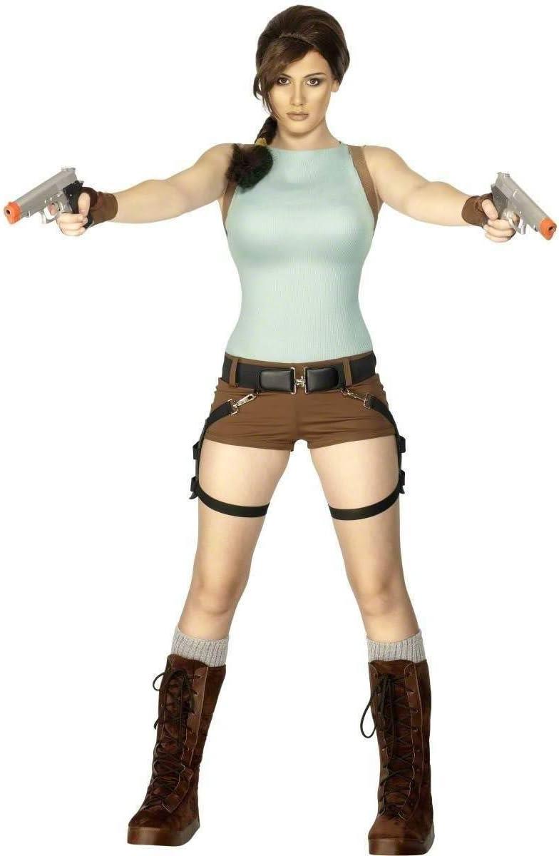 Smiffys Disfraz de Lara Croft™ para mujer: Amazon.es: Juguetes y ...